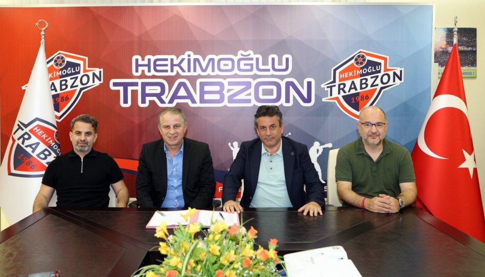 Hekimoğlu Trabzon Bahaddin Güneş ile anlaştı