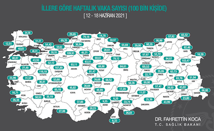 Karadeniz'de vaka sayıları artan illerde rehavet etkisi