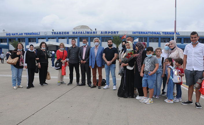 Trabzon'a turist akını başladı