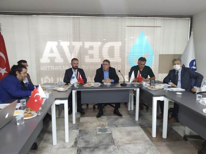 DEVA Partisi'nden Trabzon'da toplantı
