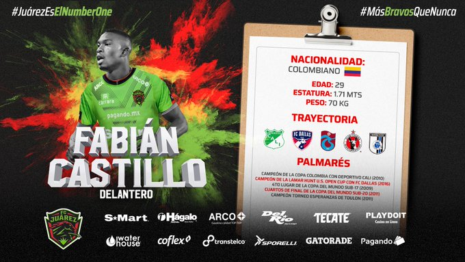 Fabian Castilo'dan bir transfer daha!