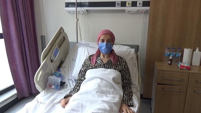 Songül öğretmenin böbreği Trabzon'da hayat kurtardı