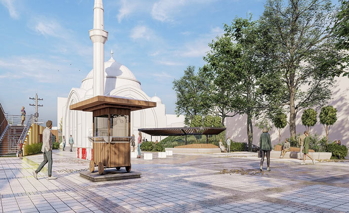 Akçaabat'a Fatih Parkı projesi