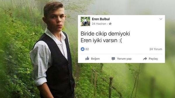 Eren Bülbül unutulmadı! Mesajı yine gündem oldu