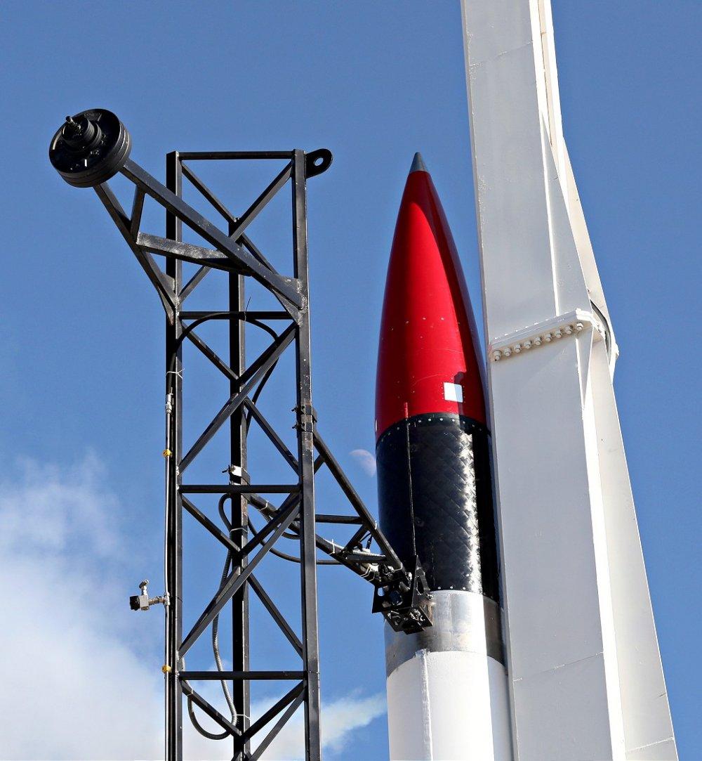 Ay misyonunda kullanılacak hibrit motorlu Sonda Roket Sistemi başarıyla test edildi