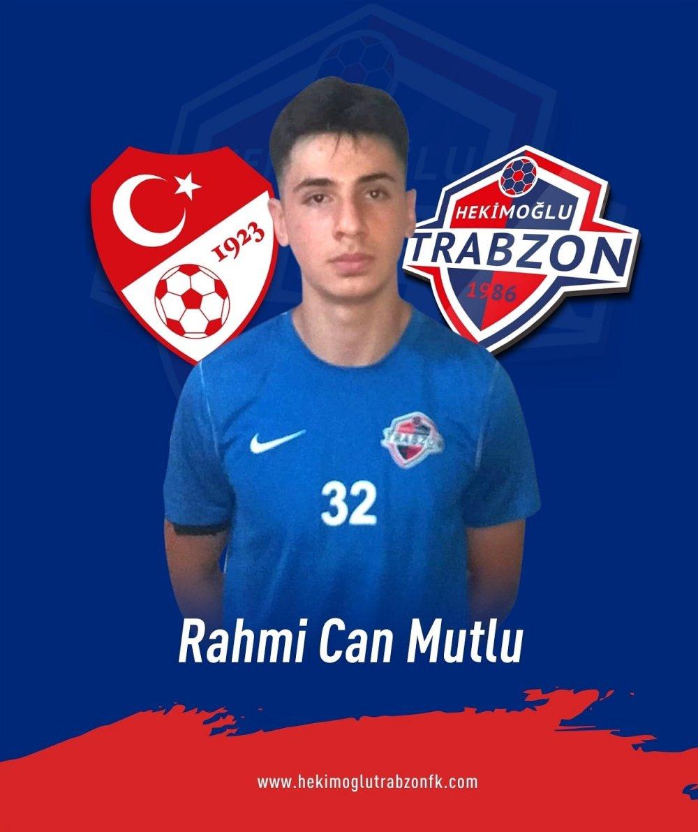 Hekimoğlu Trabzon'da Rahmi Can Mutlu'ya Milli davet