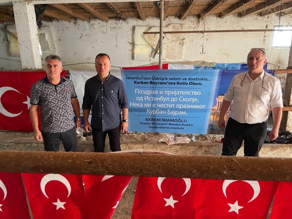 """Ekrem İmamoğlu: """"Balkanlar'da gönüller yapmaya geldik"""""""