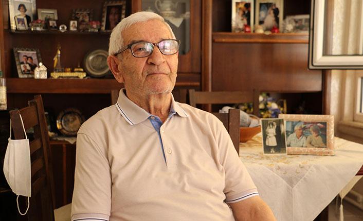 58 yılda ilk kez ayrı kalan çiftin hastanedeki buluşması duygulandırdı