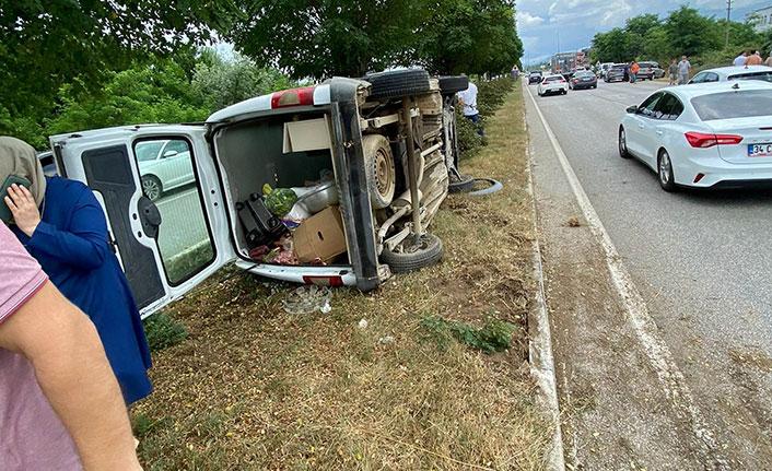 Samsun'da trafik kazası 6 yaralı