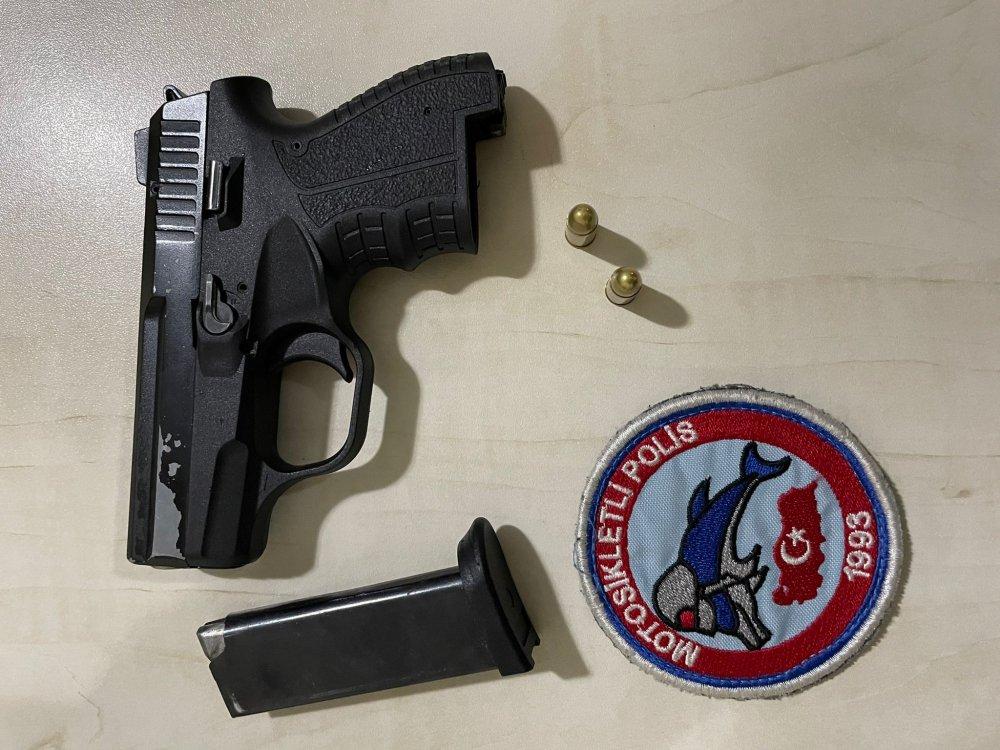 Trabzon'da Emniyet'ten operasyon! Hem uyuşturucu hem de silah!