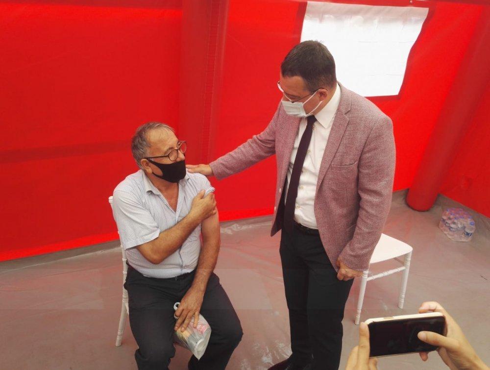 Trabzon'da aşı projesi! Aşı olana özel indirim