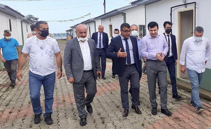 Fındık işçilerine özel konaklama merkezi hazırlandı