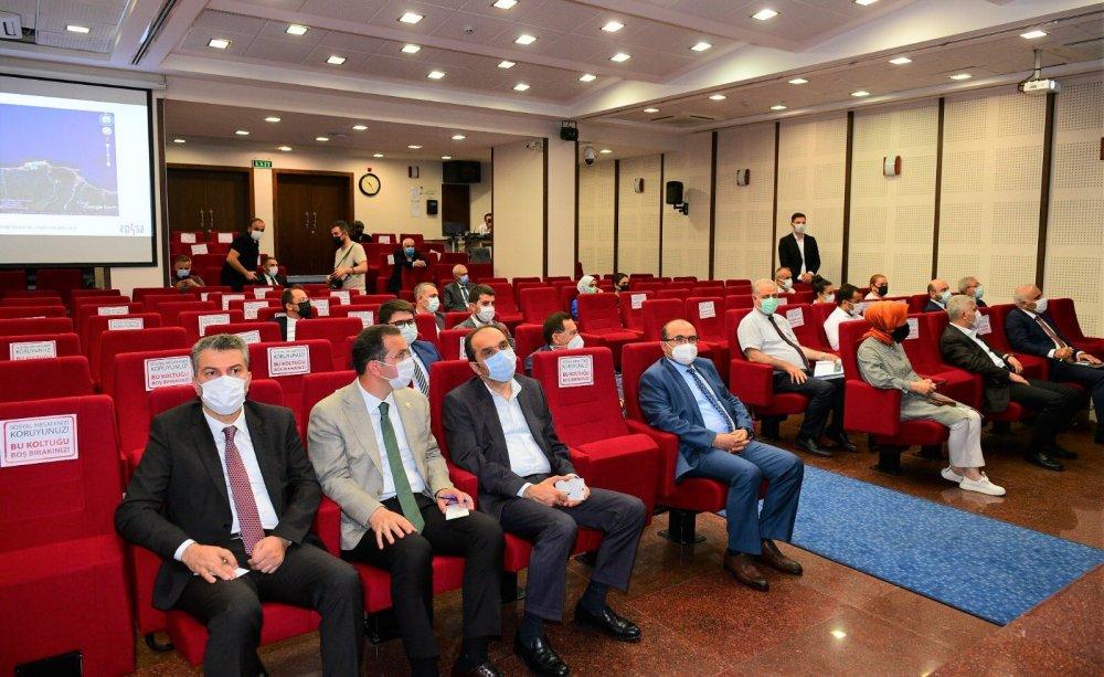 Trabzon Yatırım adası için toplandılar