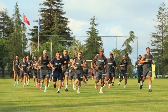 Trabzonspor Molde'ye hazırlanıyor