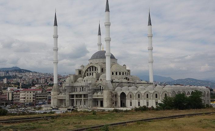 camisinin kaba inşaatı tamamlandı