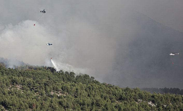 Türkiye'deki orman yangınlarına 6 ülkeden 18 hava aracıyla destek