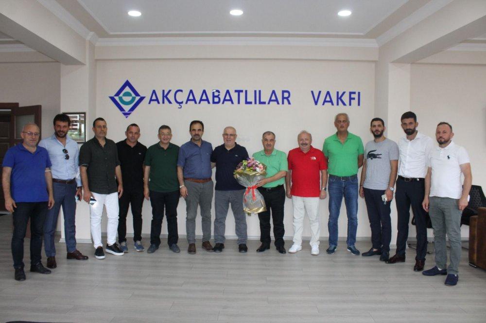 Akçaabat Sebatspor'dan önemli ziyaretler