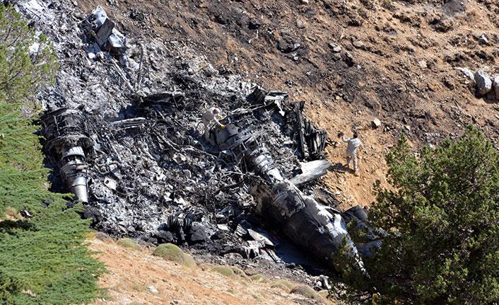 Düşen yangın söndürme uçağının karakutusuna Rusya'da inceleme