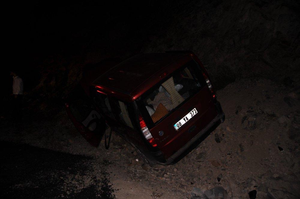 Artvin'de trafik kazası: 4 yaralı