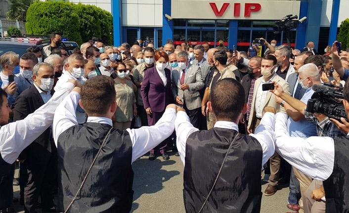 Meral Akşener Trabzon'a geldi
