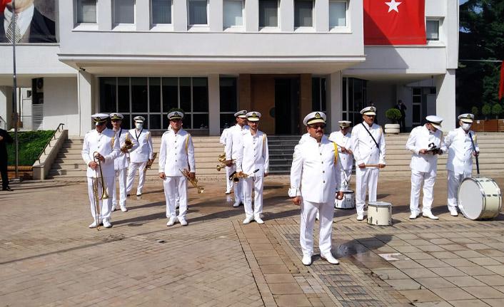 Atatürk'ün Trabzon'a gelişinin 97. yıldönümü kutlandı