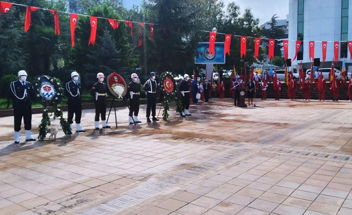 Atatürk'ün Trabzon'a gelişinin 9. yıldönümü kutlandı