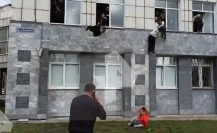Rusya'da üniversiteye baskın: 5 ölü