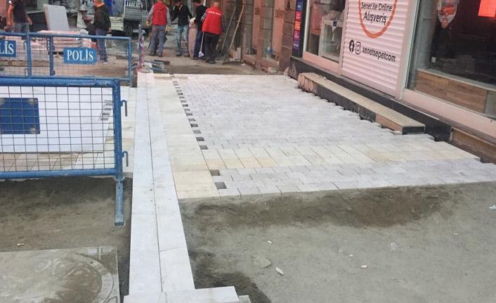 Trabzon'da üstyapı çalışmaları sürüyor