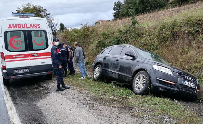 Samsun'da ambulans ile otomobil çarpıştı 5 yaralı