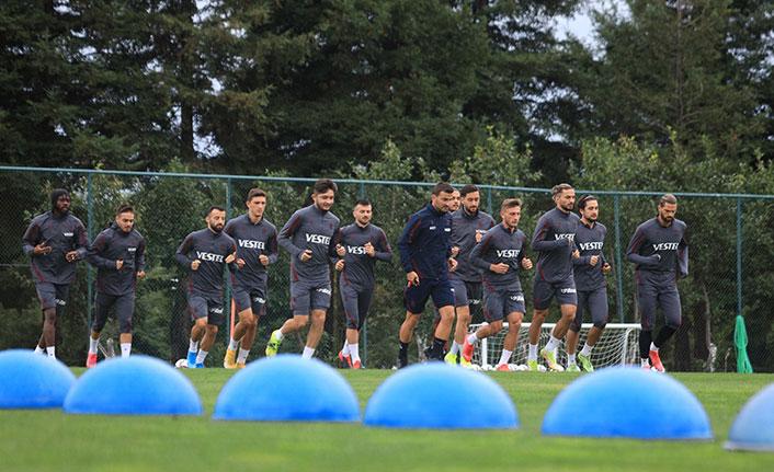 Trabzonspor Alanyaspor karşılaşmasına hazırlanıyor