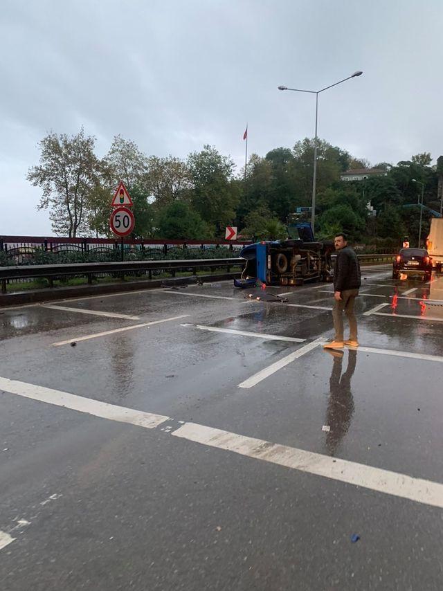 Trabzon'da kaza 1 yaralı