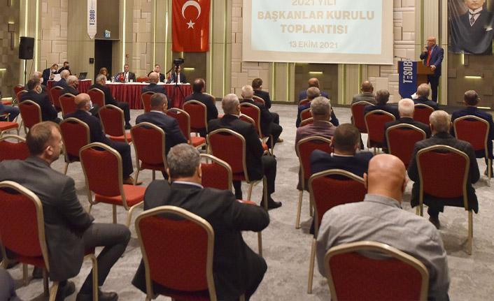 TESOB 2021 Yılı Başkanlar Kurulu toplantısı yapıldı
