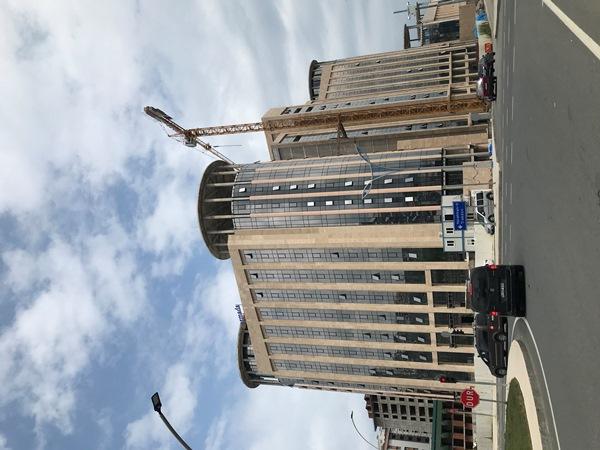 Trabzon Dünya Ticaret Merkezi'nin yüzde 90'ı tamamlandı