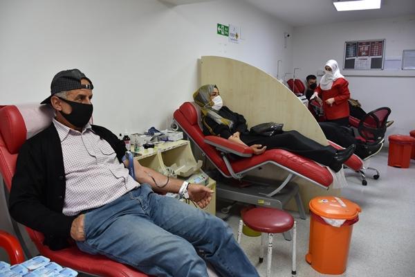 Trabzon'da kan vermek için yarıştılar