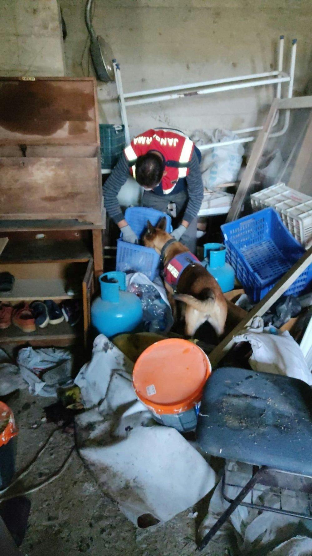 Trabzon'da Jandarmadan uyuşturucu operasyonu