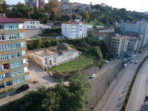 Trabzon'da Tarihi Hasanpaşa Hamamı gün yüzüne çıkıyor