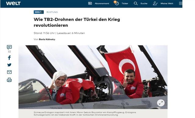 Almanya'dan Türk SİHA'larına büyük övgü