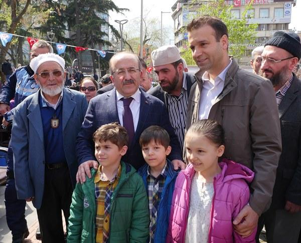 Trabzon'da Kutlu Doğum Haftası açılışı yapıldı