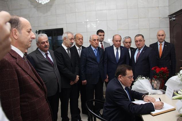 Trabzon'da Başkanlardan taziye ziyaretleri