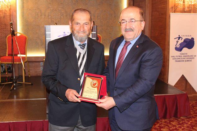 Trabzon'da Hakem ve Gözlemciler dayanışma gecesinde buluştu