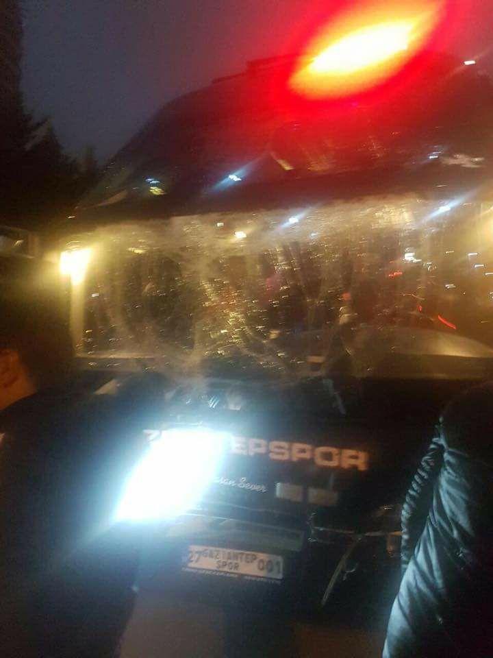 Gaziantepspor kafilesi ölümden döndü