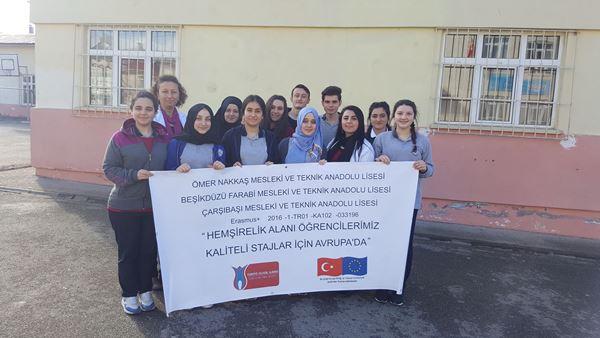 Trabzon'da hemşirelik öğrencileri Avrupa'da staj görecek