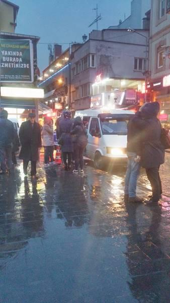Trabzon'da yolcuların midibüs çilesi