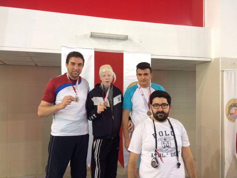 Trabzonlu görme engelli sporcu Türkiye ikincisi oldu