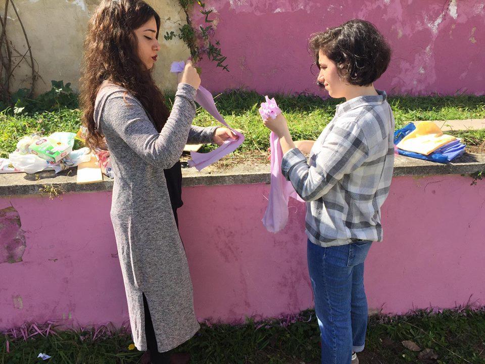 KTÜ'de Kadın Meydanı kuruldu!