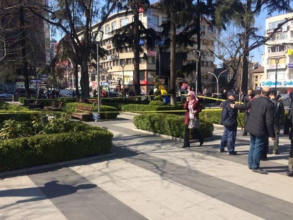 Trabzon'da 8 Mart yürüyüşüne şüpheli çanta engeli