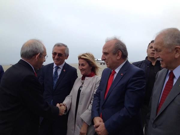 Kemal Kılıçdaroğlu Trabzon'a geldi