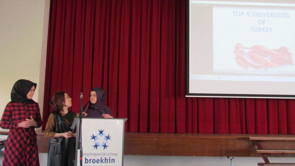 Trabzon'dan Hollanda'ya gittiler