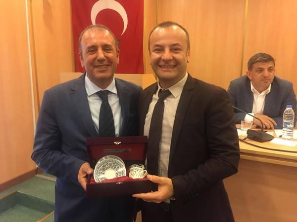 Arsin OSB yeni başkanını seçti 1