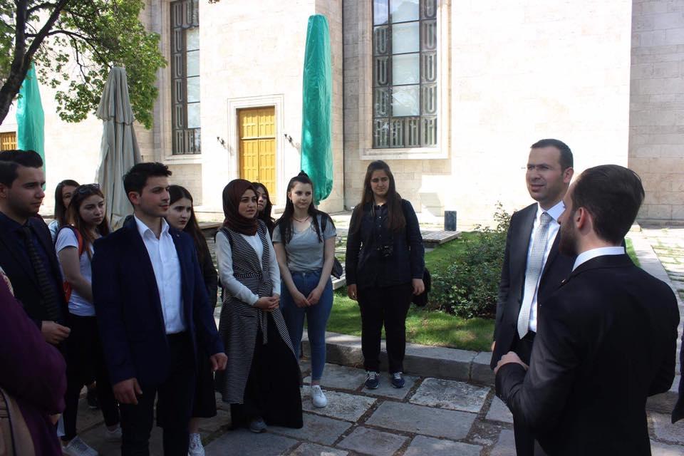 Ktü'lü öğrenciler Ankara'yı ziyaret etti